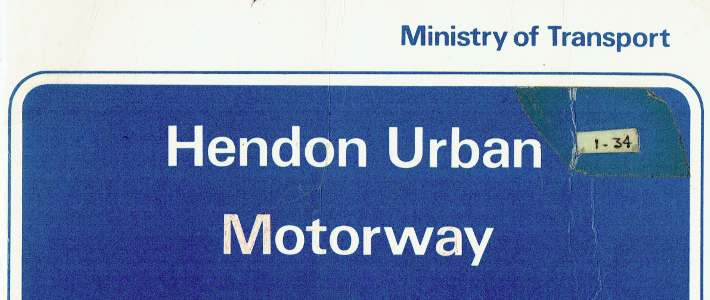 M1 Hendon Urban Motorway