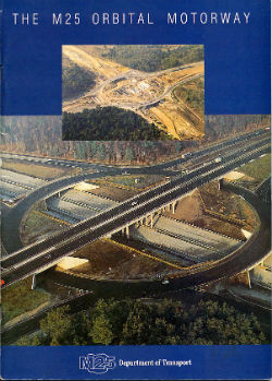 Booklet published to mark the completion of the M25