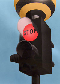 Panda Crossing signal head