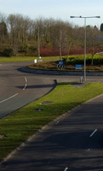 A Milton Keynes roundabout. Click to enlarge