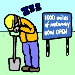 1969: 1000 miles of motorway completed