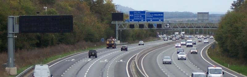 If the M25 can be a motorway without a hard shoulder, why can't the A30? Click to enlarge