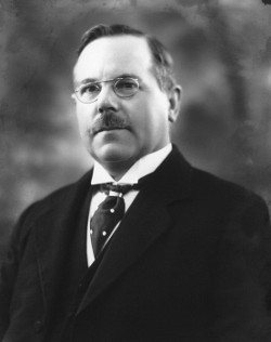 Sir Henry Maybury, photographed in 1922. Click to enlarge