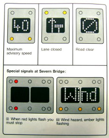 Ministry of Transport leaflet explaining new Motorway Signals. Click to enlarge