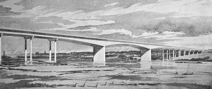 M2 Motorway and Medway Bridge