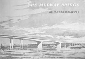 M2 Medway Bridge opening booklet