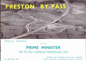 Preston Bypass opening booklet