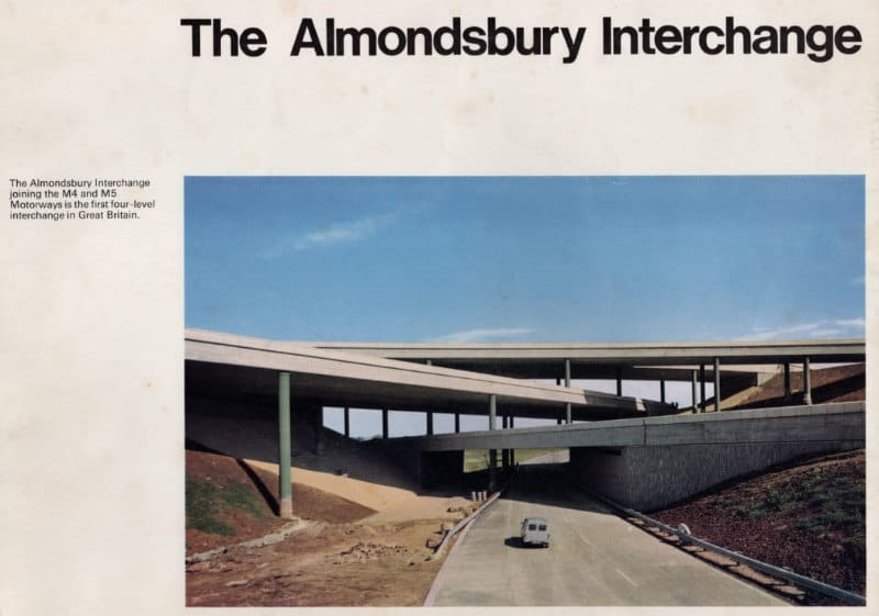 Booklet published to mark the opening of the M4/M5 Almondsbury Interchange