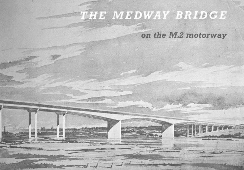 Booklet published to mark the opening of the M2 Medway Bridge
