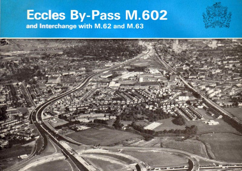 Booklet published to mark the opening of the first stage of the M602