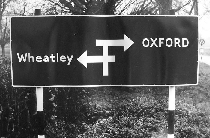 A selection of Oxfordshire signs