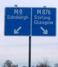 M9 and M876 signs