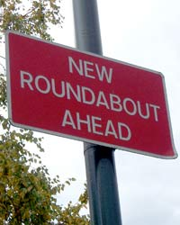 There's a new roundabout ahead
