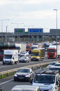 Congestion on the M25