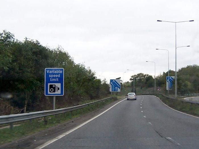 m6 speed limit
