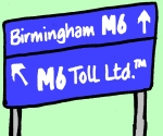 2001: the M6 Toll
