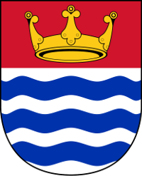 The GLC coat of arms, granted on its creation in 1965