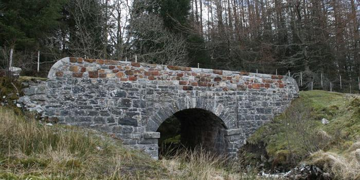 A bridge on Telford's Road near Black Mount. Click to enlarge