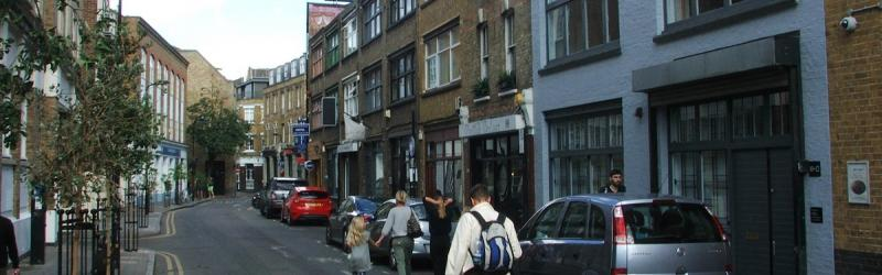 A view along Rivington Street, typical of the area affected by the new proposals. Click to enlarge