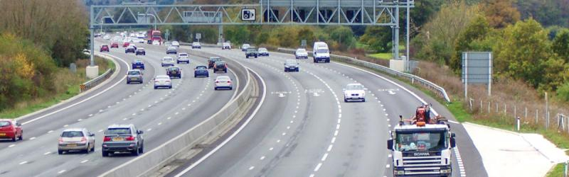 "The M25 in Kent, now a Smart Motorway: this newly upgraded road is already being upgraded to add more safety features following the ""stocktake"". Click to enlarge"