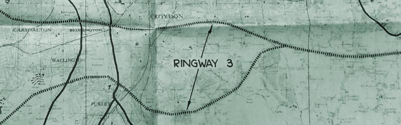Two lines and no decision: Ringway 3 across South London. Click to enlarge