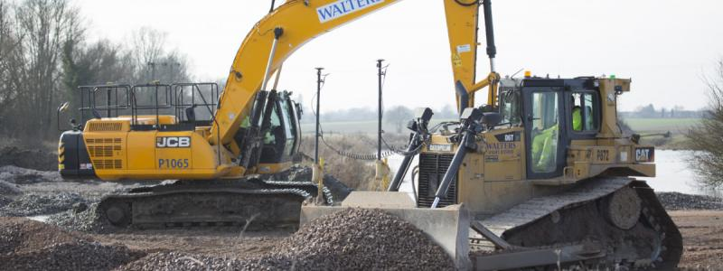 Earthmoving on the A14 Cambridge-Huntingdon scheme. RIS2 promises a lot more of this. Click to enlarge