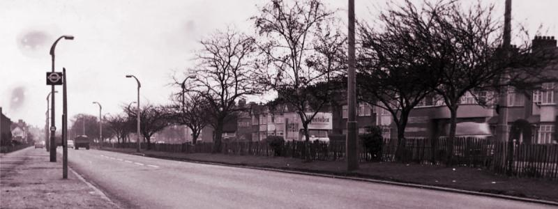 The A12 Eastern Avenue in 1964: one of London's better radial routes, but not considered good enough. Click to enlarge